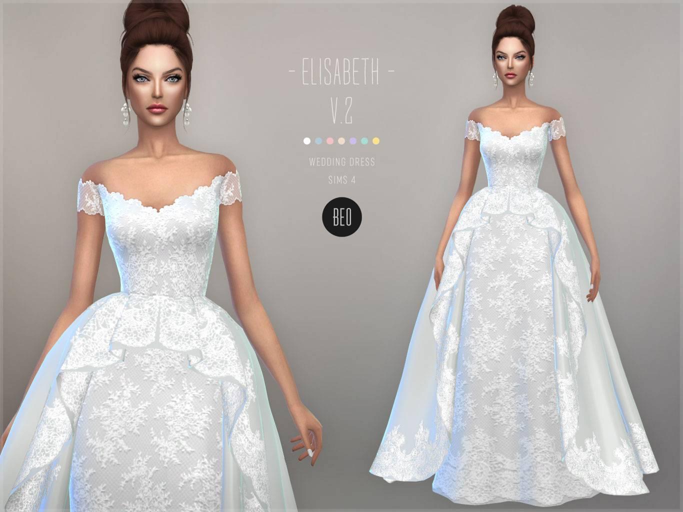 Свадебное платье - ELISABETH V.2