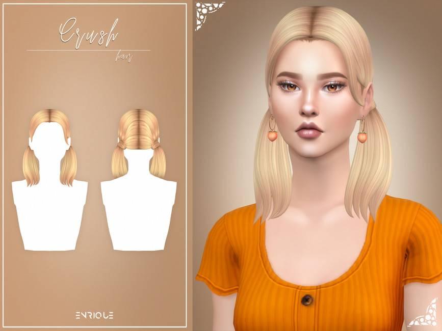 Женская прическа - Crush Hairstyle