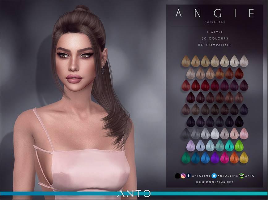 Женская прическа - Angie