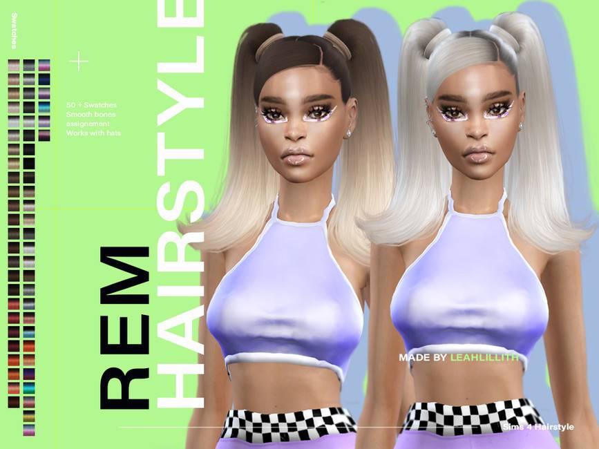 Женская прическа - REM Hairstyle