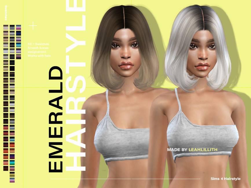 Прическа - Emerald Hairstyle