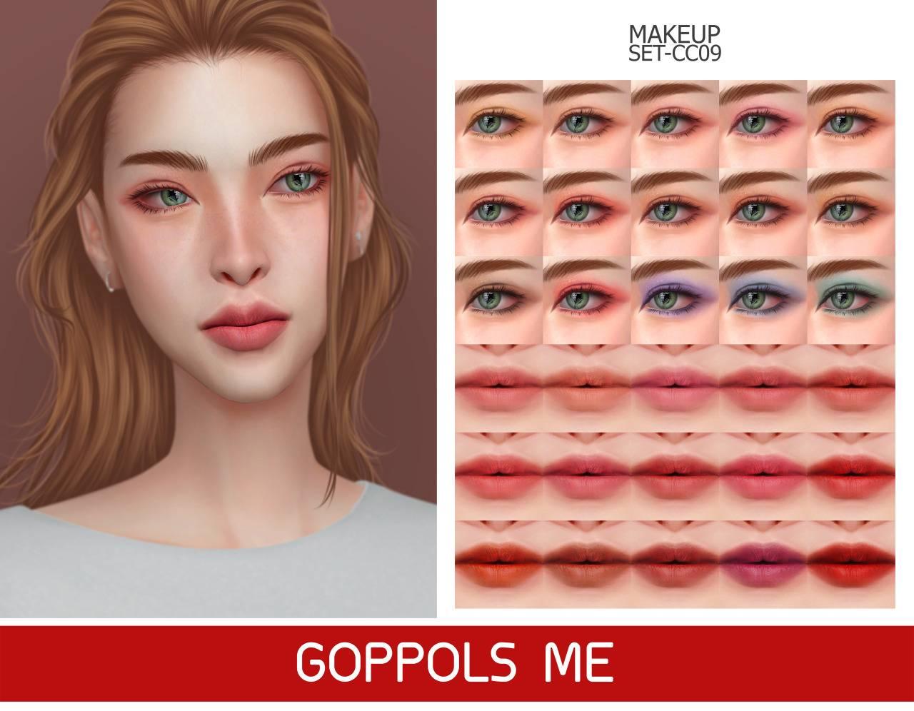Набор косметики - MAKEUP SET CC09