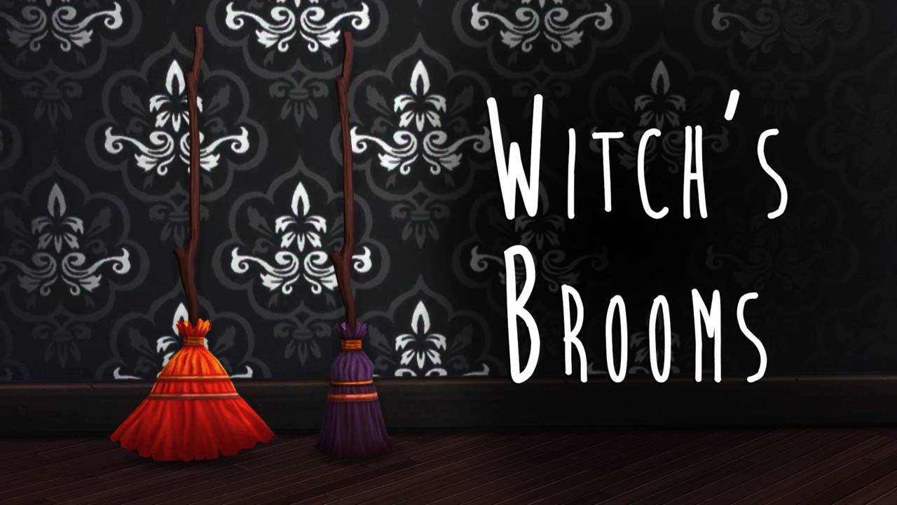Метлы ведьмы - Witch's Brooms