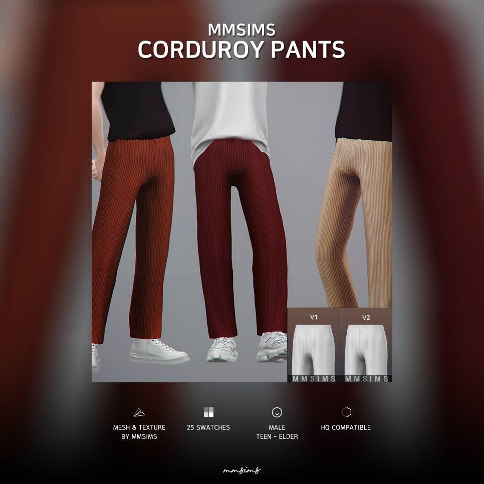 Мужские штаны - Corduroy Pants