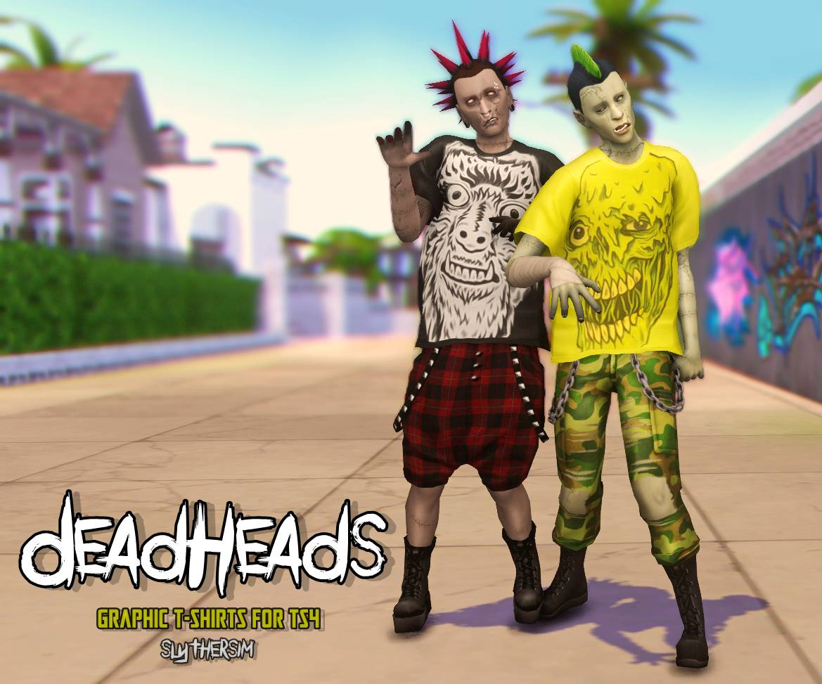 Мужская футболка - DeadHeads