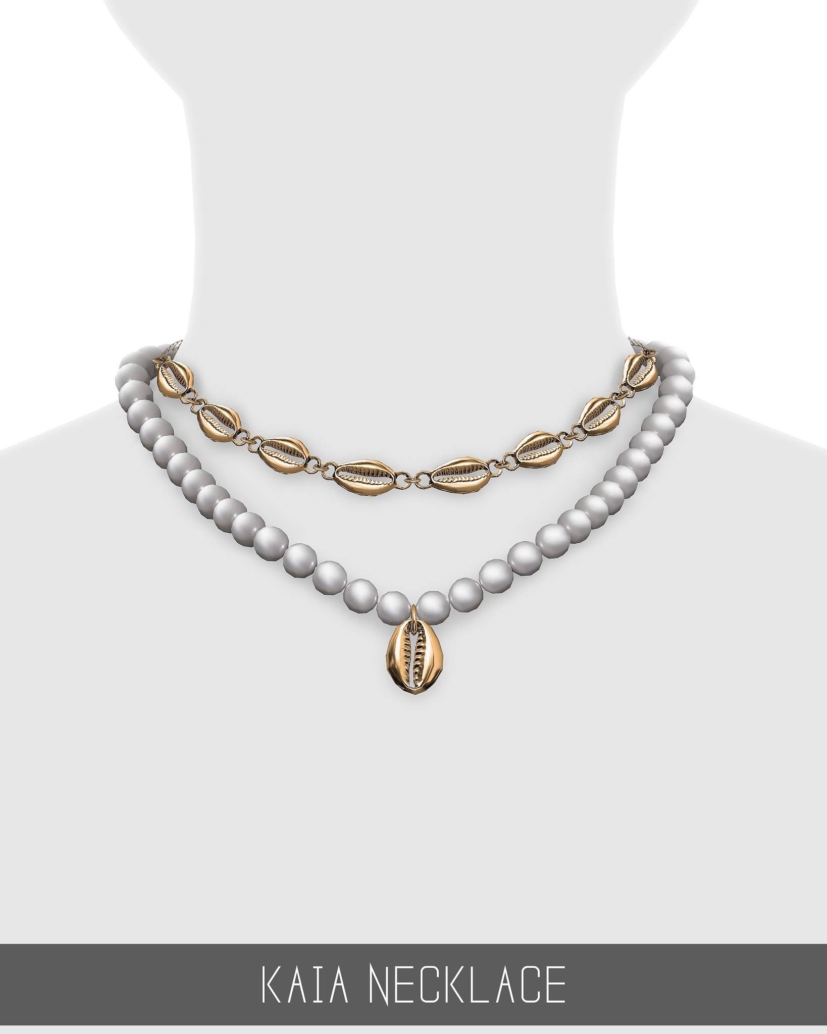 Комплект украшений - KAIA NECKLACE