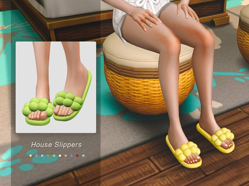Тапочки - House Slippers 01