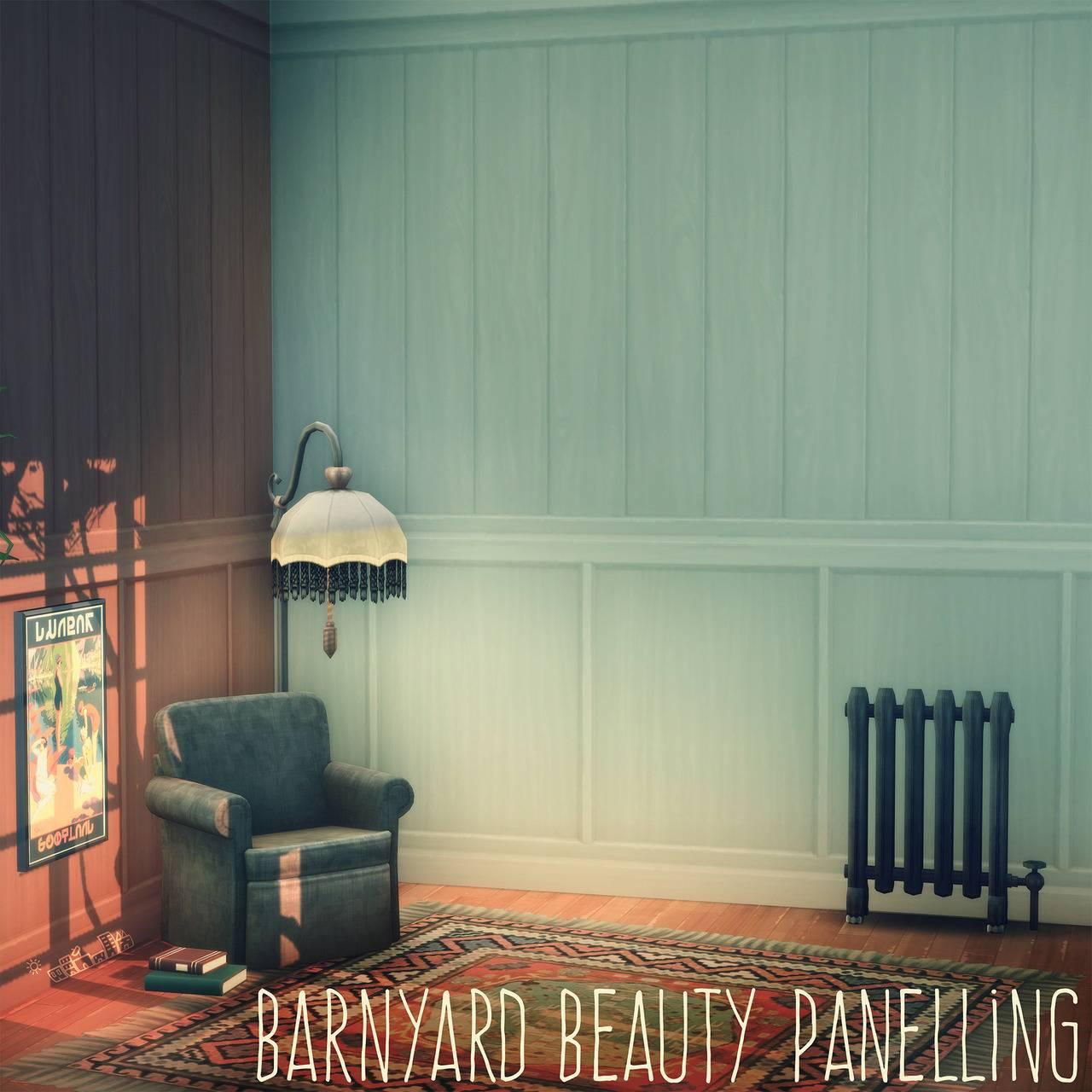 Деревянные панели - BARNYARD BEAUTY PANELLING