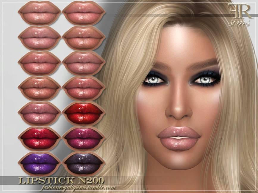 Блеск для губ - FRS Lipstick N200