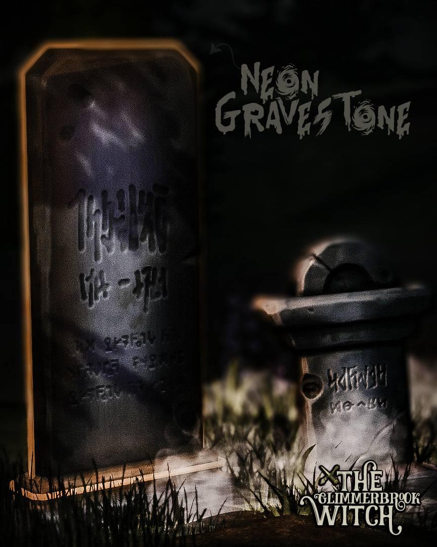 Надгробный камень - THE NEON GRAVESTONE