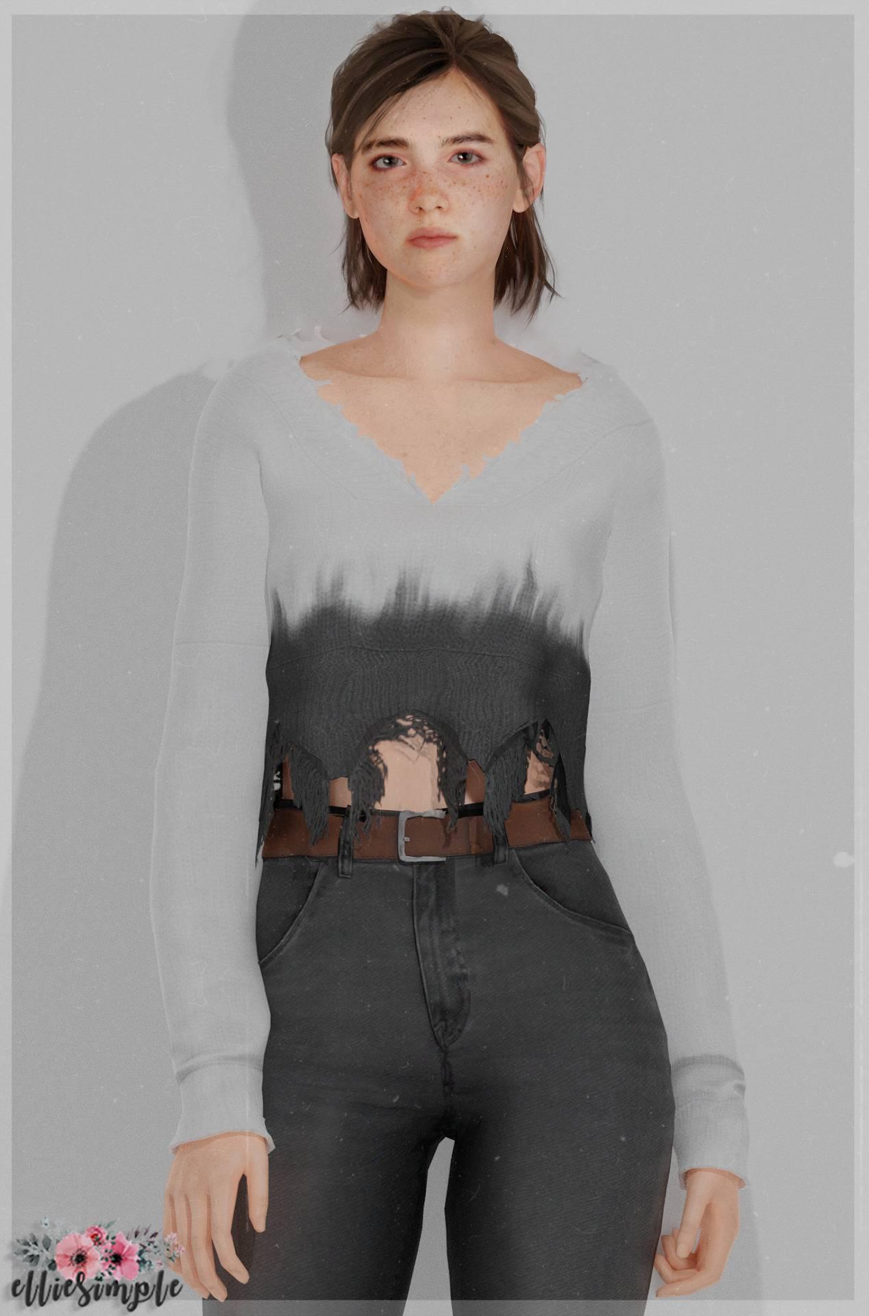 Свитер - Ripped Sweater