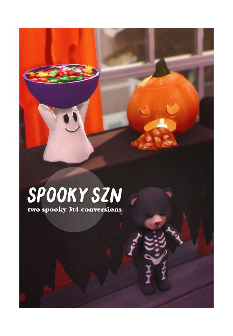 Сет для Хэллоуина - spooky szn