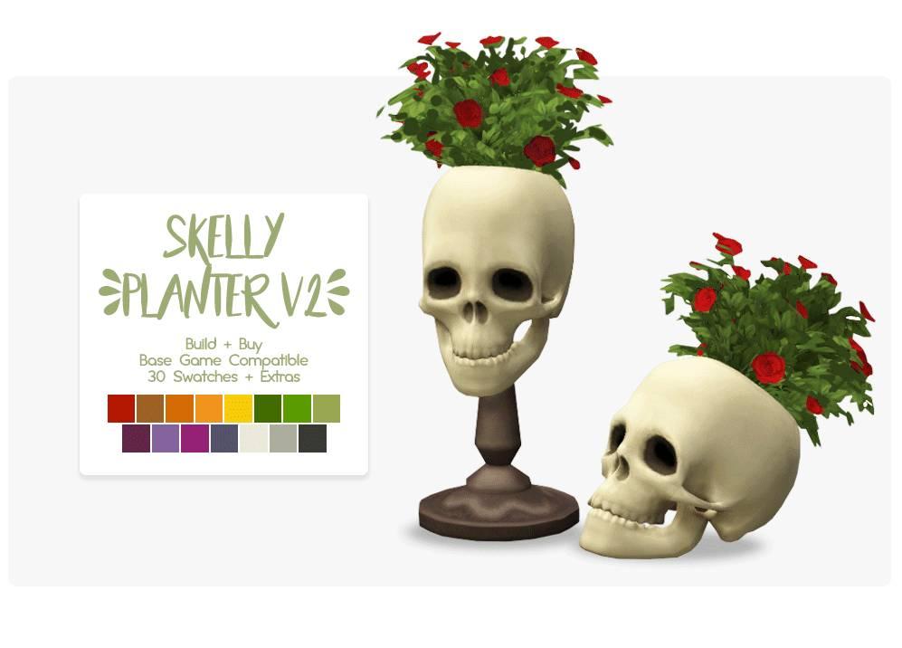 Декоративные черепа - Skelly