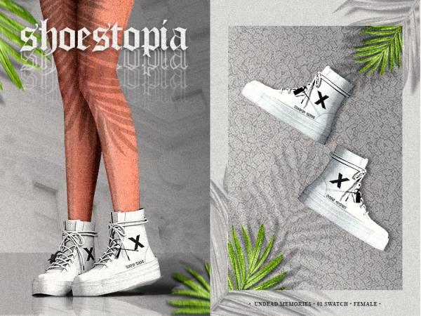 Женские ботинки - undead memories shoes