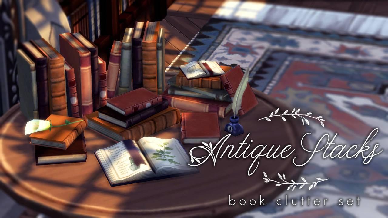 Комплект книг - Antique Stacks