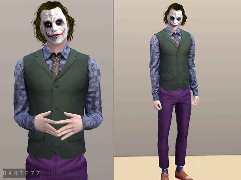 Костюм Джокера - The Joker Outfit - II