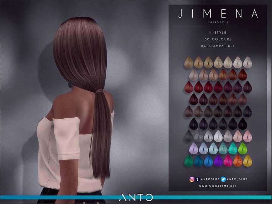 Женская прическа - Jimena