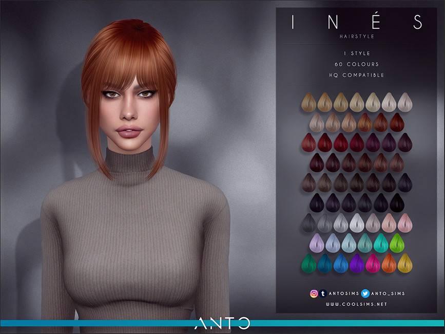 Женская прическа - Ines