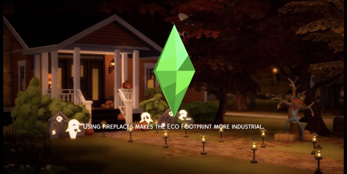 Фон для экрана загрузки - Halloween Suburban Loading Screen