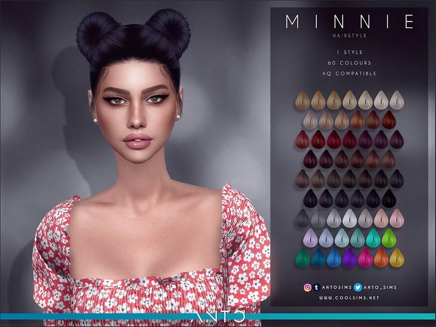 Женская прическа - Minnie