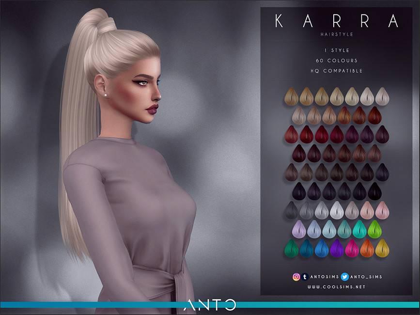 Женская прическа - Karra