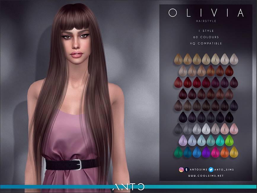 Женская прическа - Olivia Anto