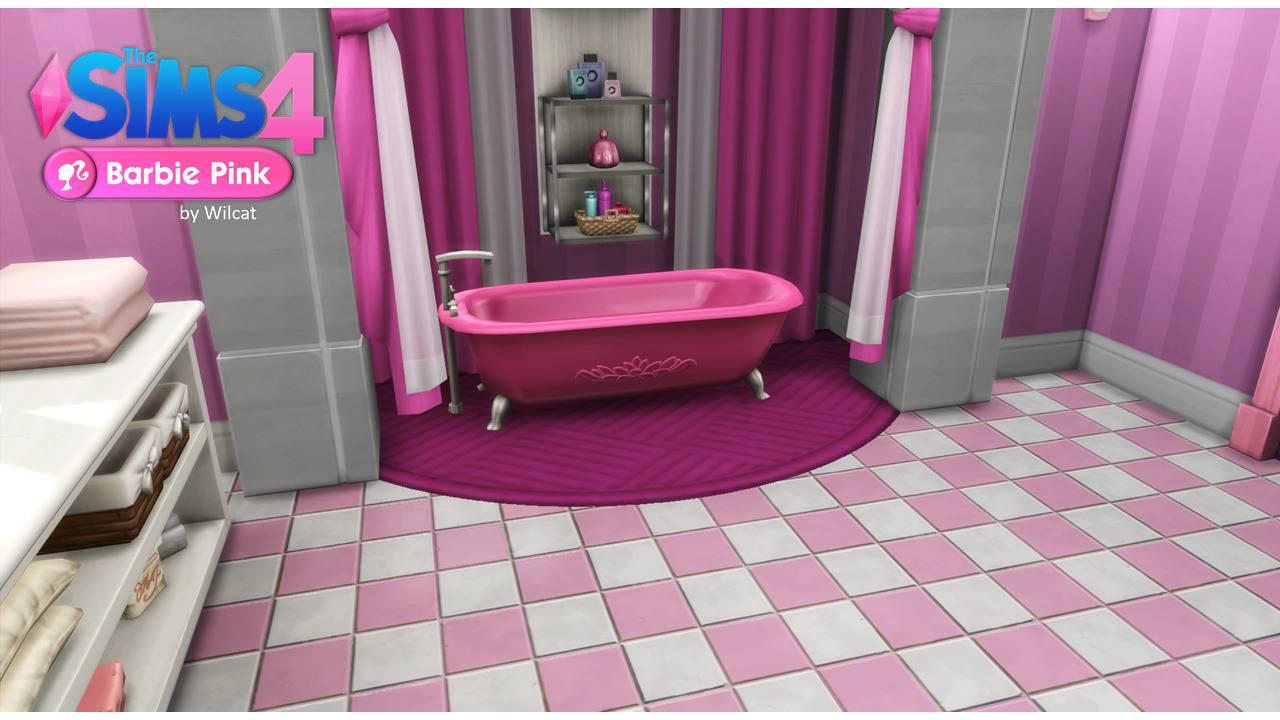 Ванная Барби - Barbie Dreamhouse Bathroom