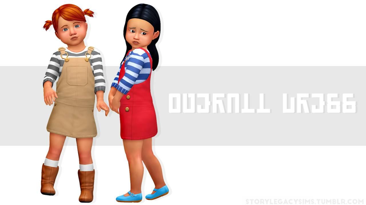 Сарафан и джемпер - OVERALL DRESS