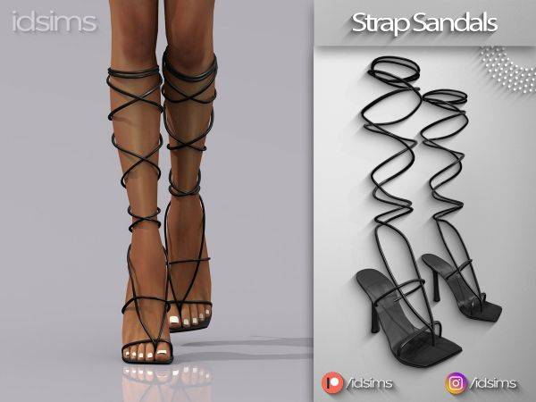 Сандалии - strap sandals