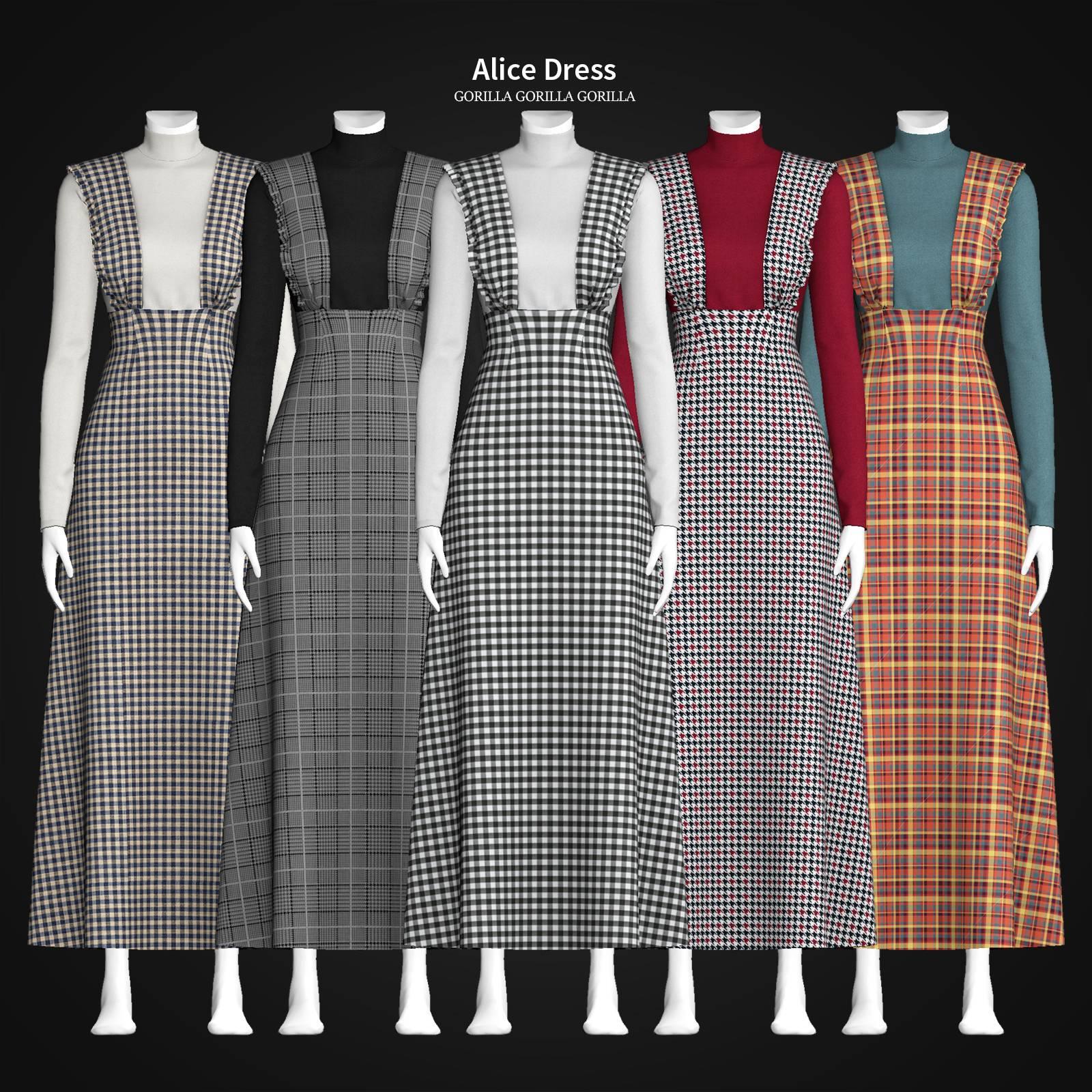 Водолазка и сарафан - Alice Dress