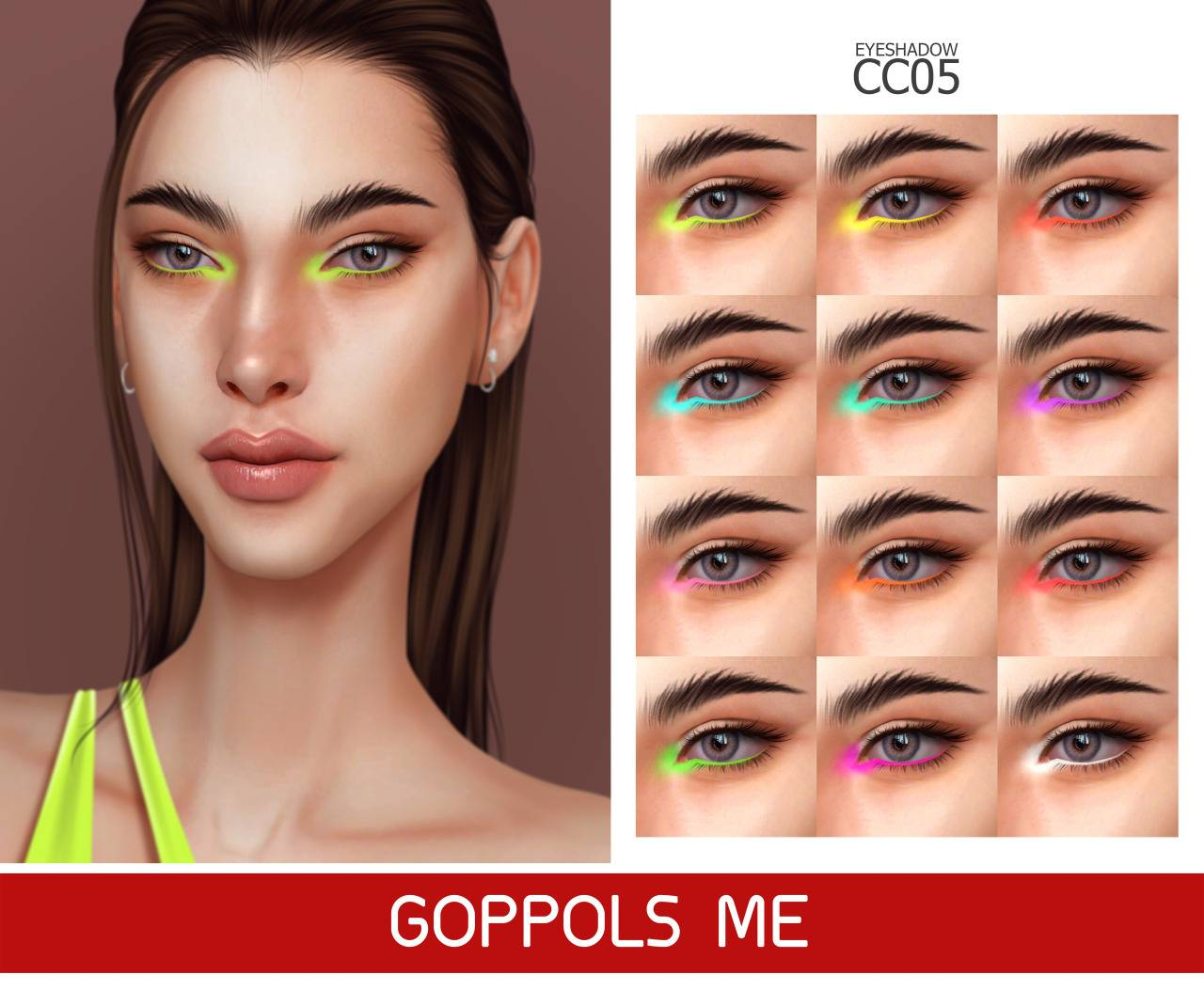 Тени для век - Eyeshadow CC 05