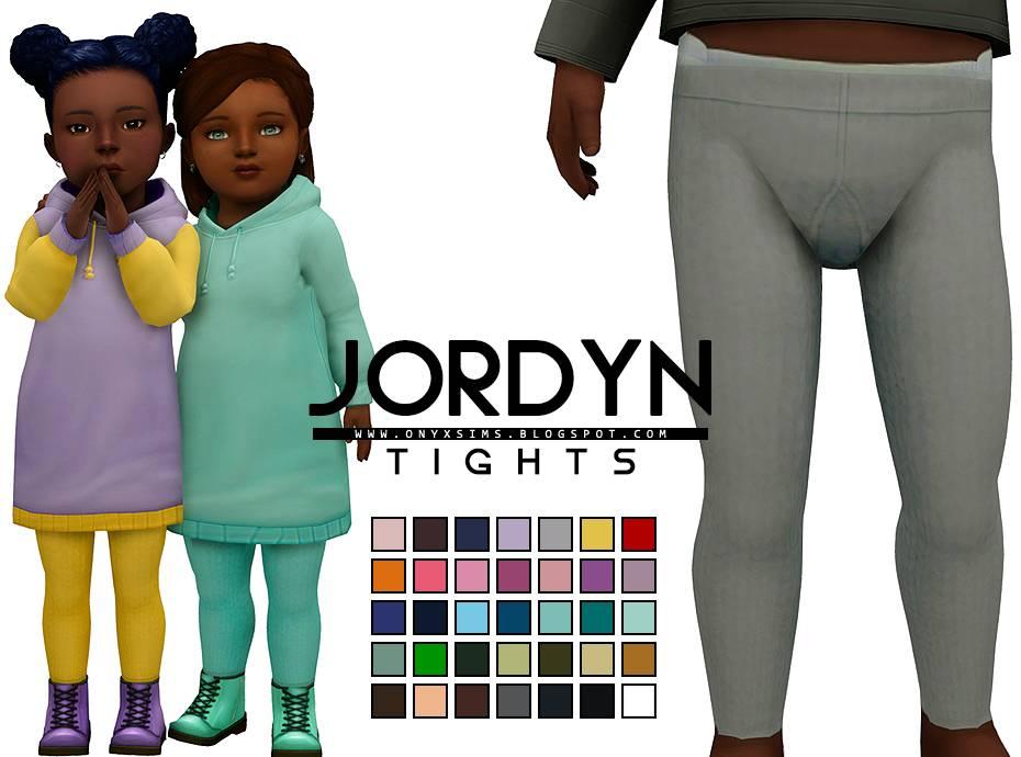 Колготки для тоддлеров - JORDYN MATCHING TIGHTS