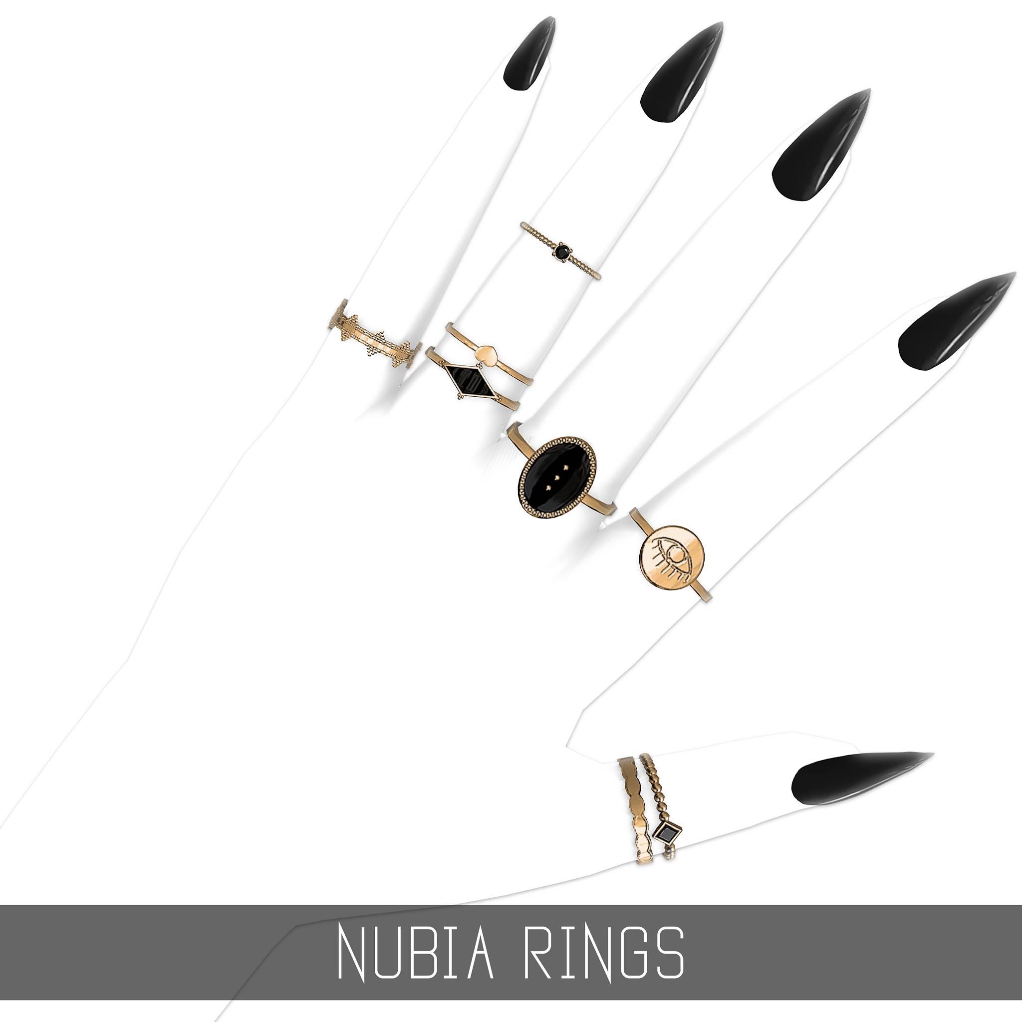 Комплект колец - NUBIA RINGS