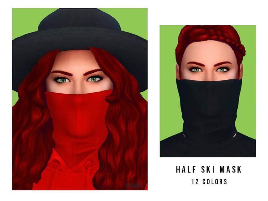 Маска - Half Ski Mask F