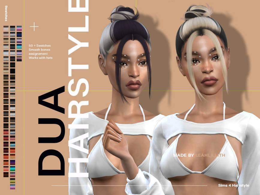 Женская прическа - Dua Hairstyle