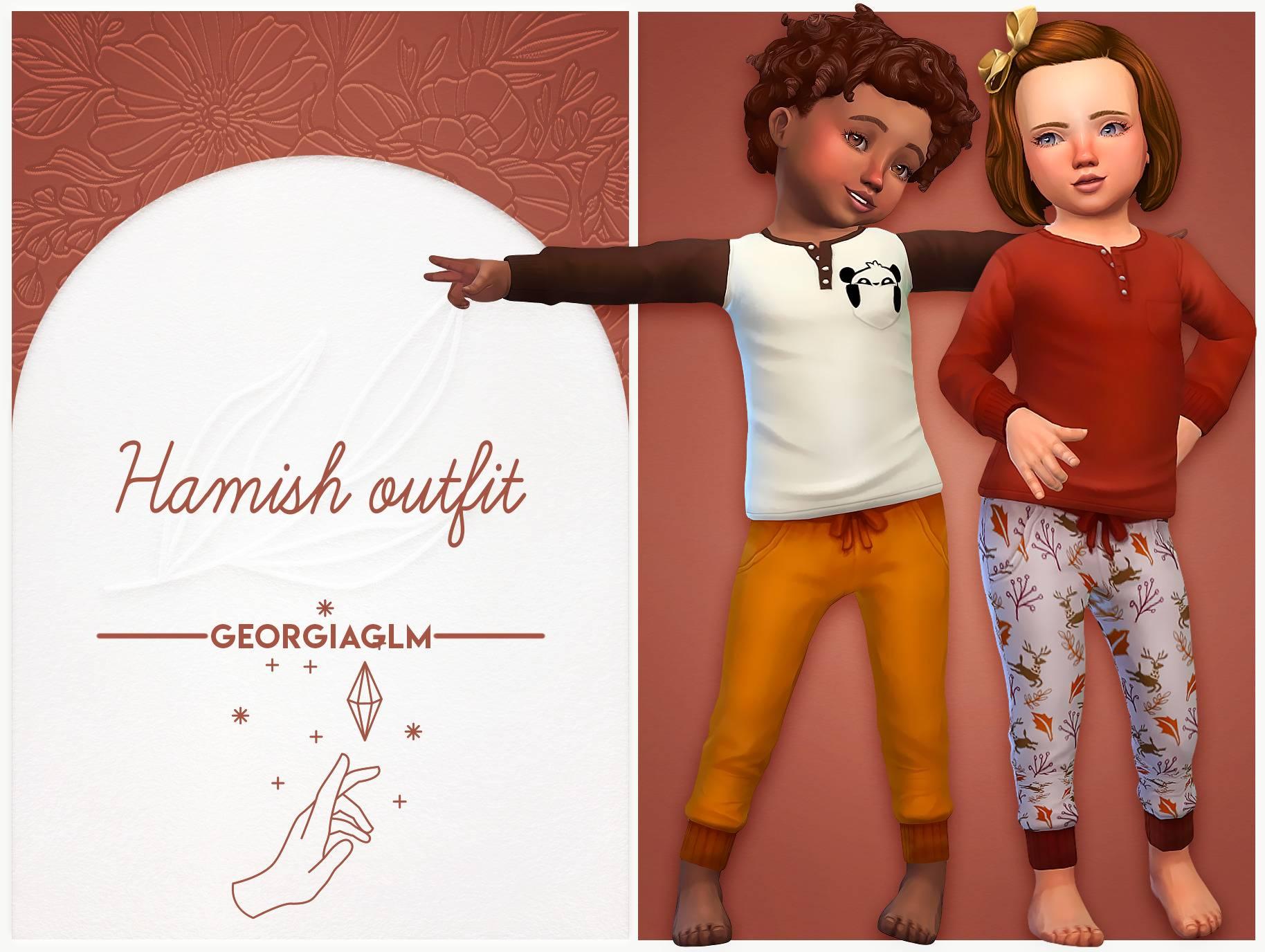 Джемпер и штаны - Hamish outfit