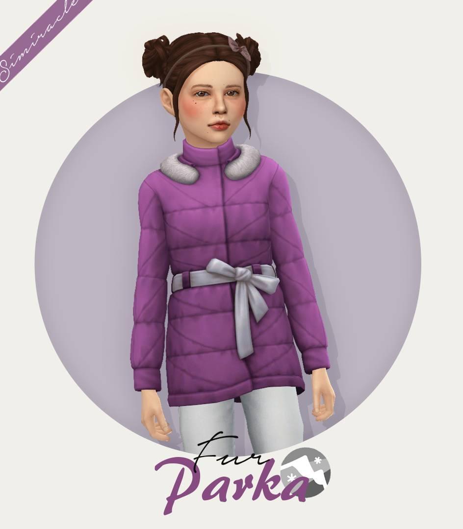 Детская куртка - Fur Parka