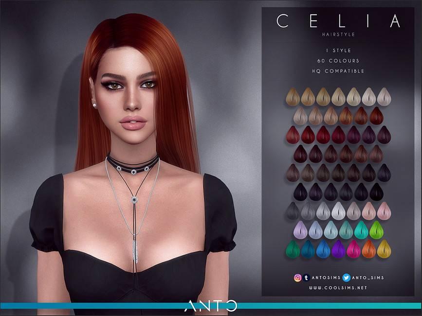 Женская прическа - Celia
