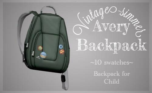 Детский рюкзак - Avery Backpack