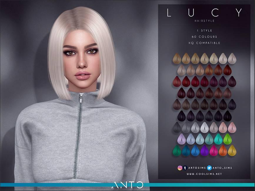 Женская прическа - Lucy