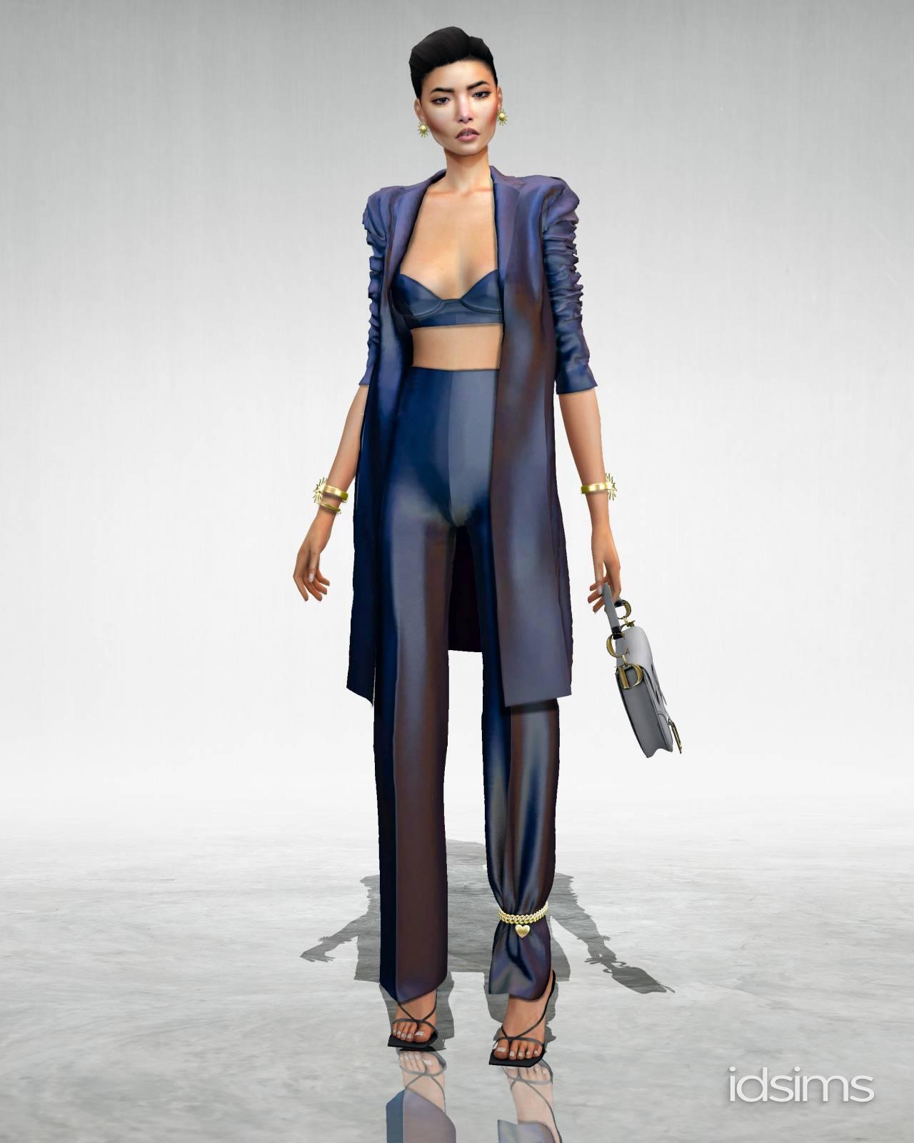 Женский костюм - dior fit set