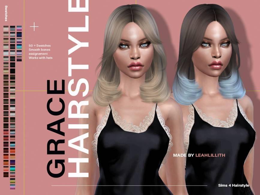 Женская прическа - Grace Hairstyle