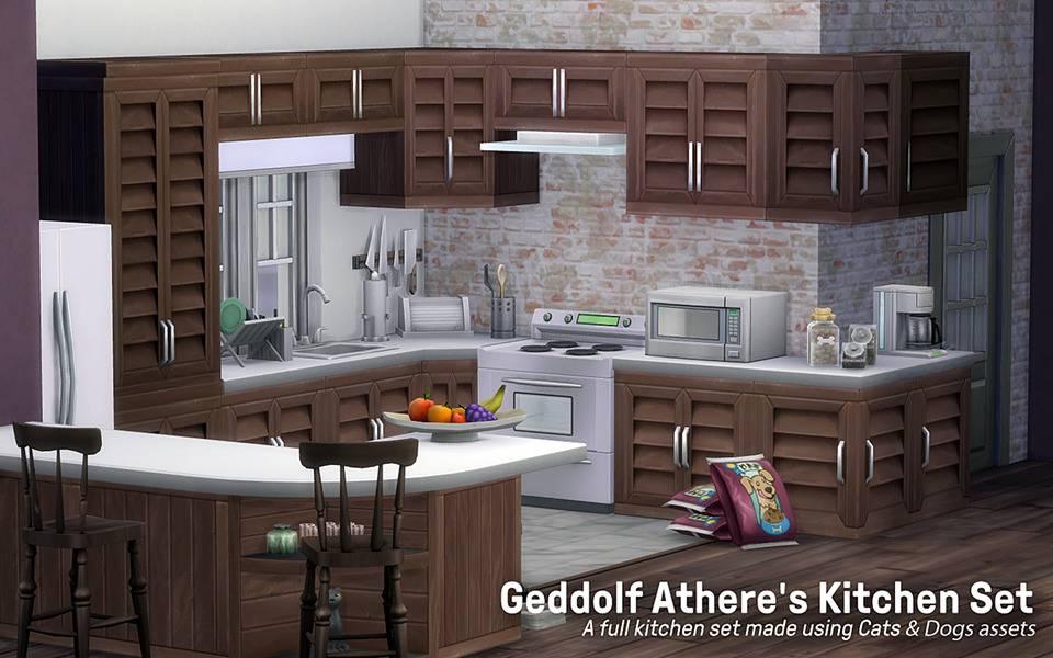 Кухонный гарнитур - Geddolf Athere's Kitchen Set