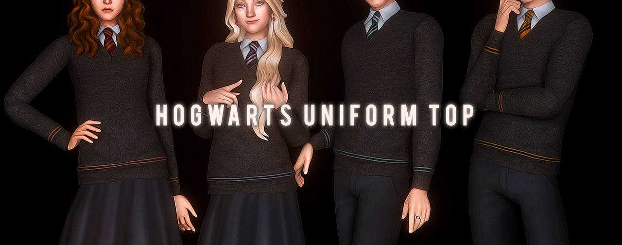 Форма Хогвартса - Hogwarts Uniform