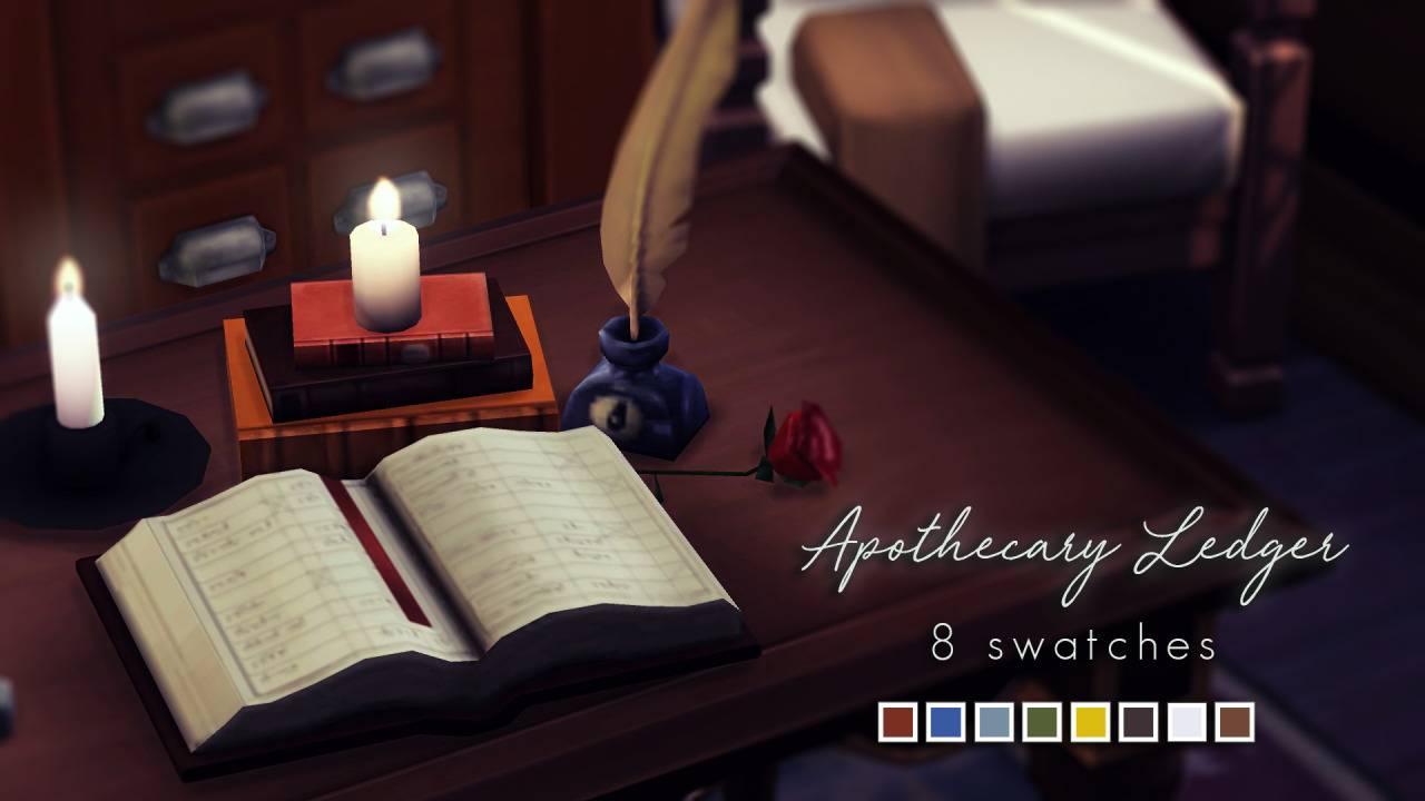 Декоративная книга - Apothecary Ledger