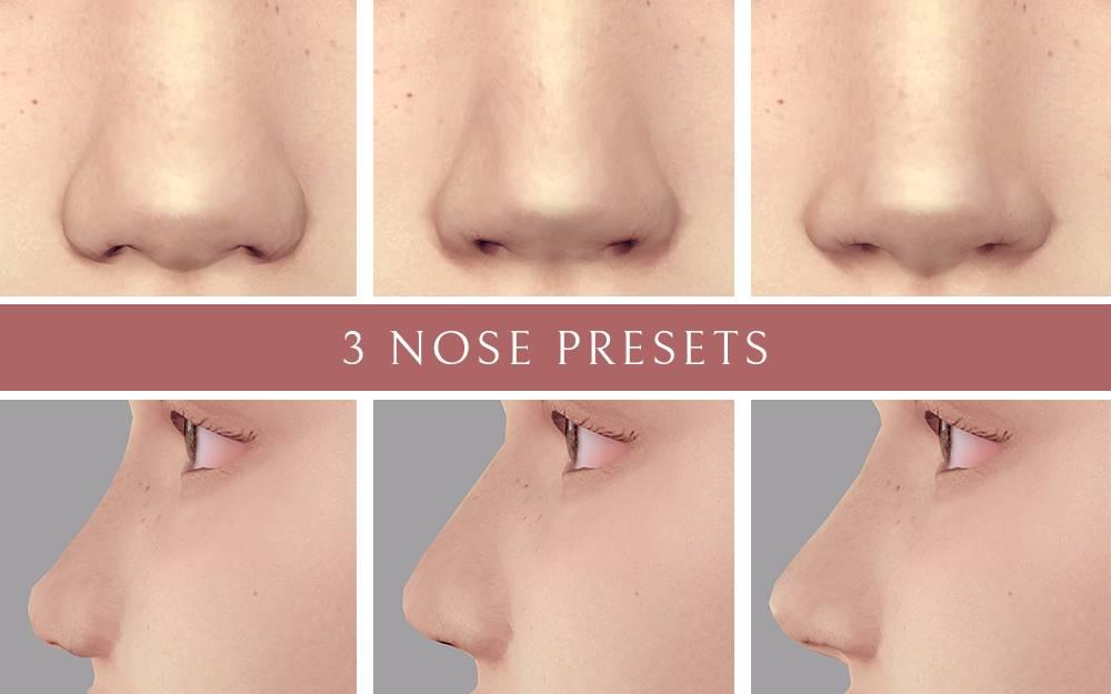 Пресеты для носа - 3 Nose Presets