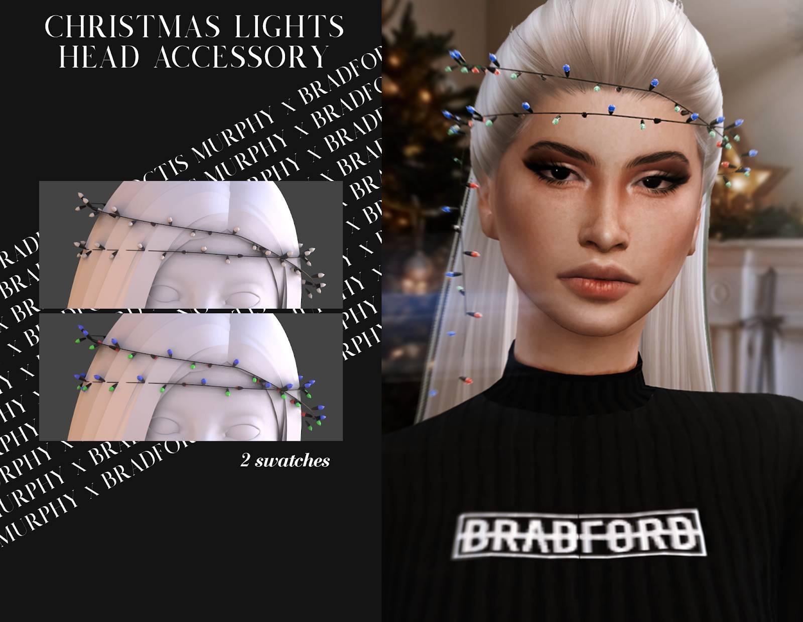 Гирлянда для головы - Christmas Lights Head Accessory