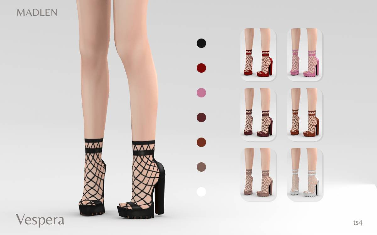 Босоножки и носочки - Vespera Shoes