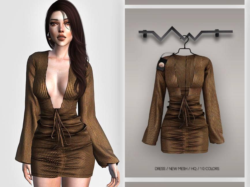 Платье - Dress BD384
