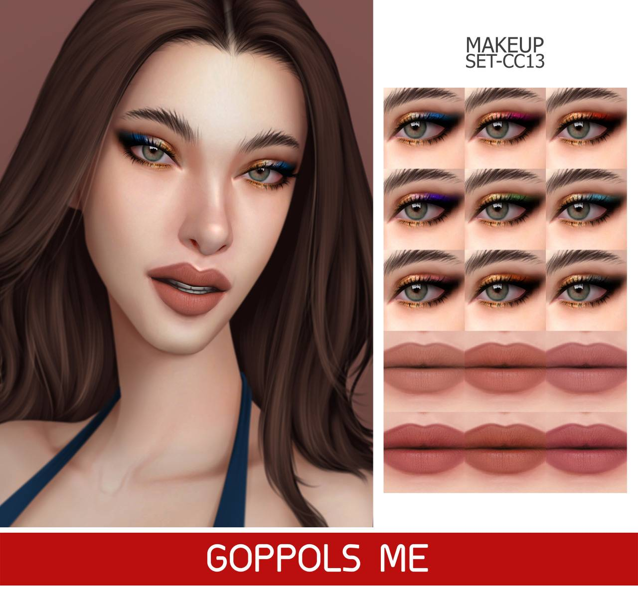 Набор косметики - MAKEUP SET CC13